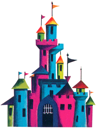 MULTI COLOR CASTLE LOGO - 81