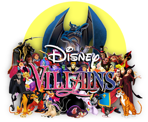 Disney Villains Homepage Logo