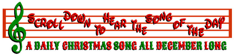 SONG OF THE DAY LOGO CHRISTMAS2